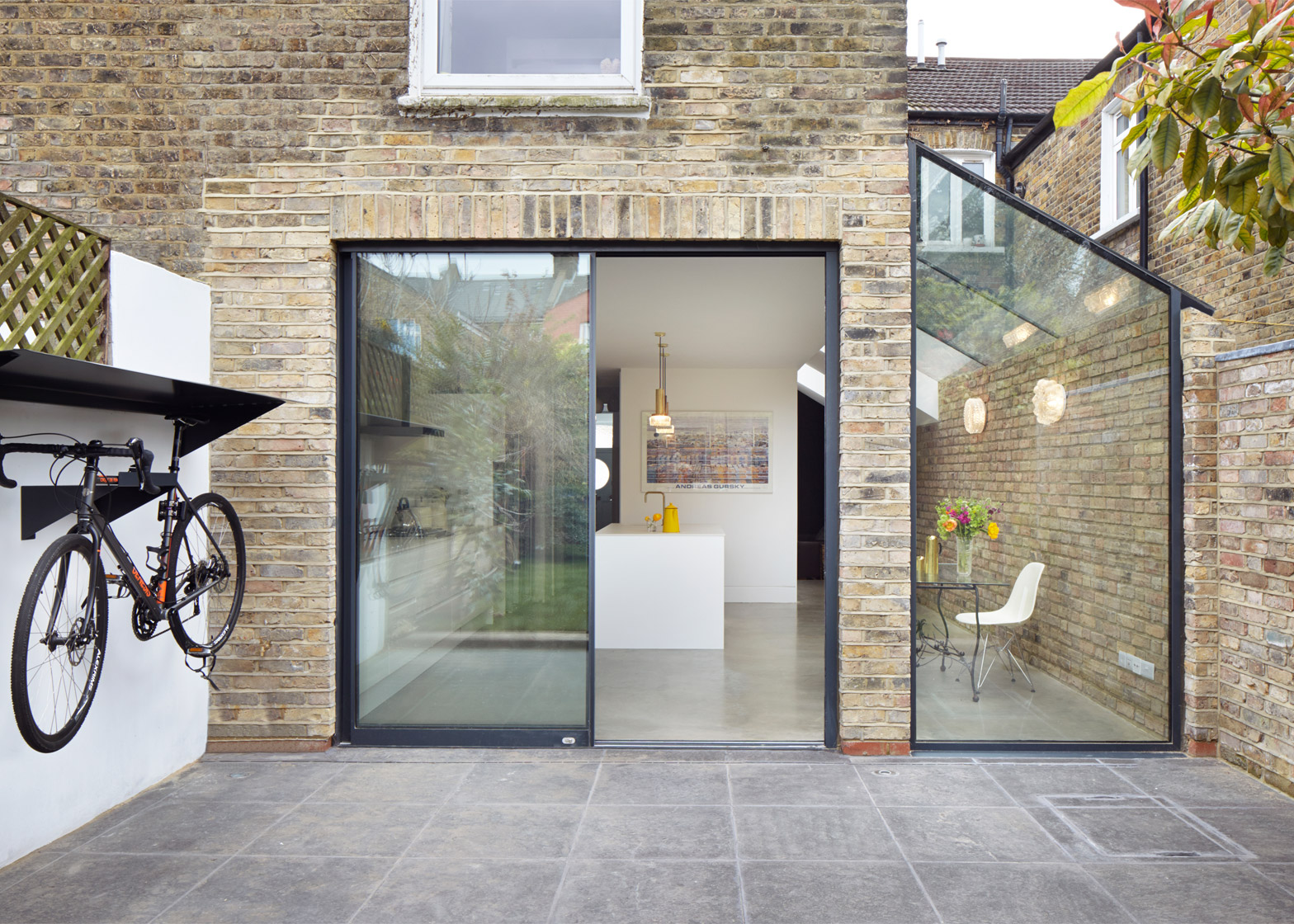 Glass extension and alterations