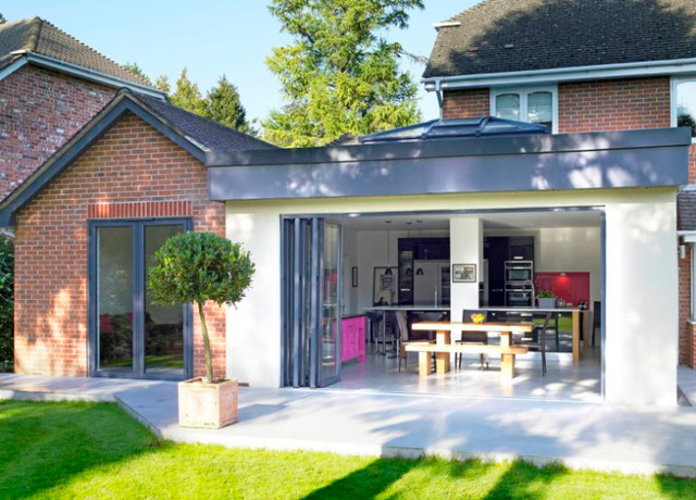 Mordern face lift extension Solihull