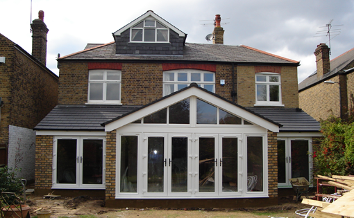 rear extension after
